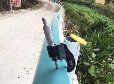 贵州乡村公路喷塑护栏安装