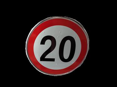 限速标志20公里